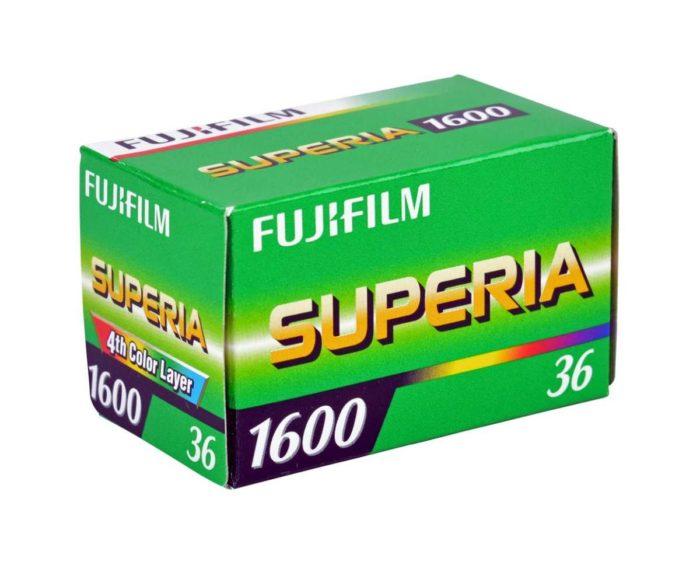 Fuji Superia X-TRA 1600