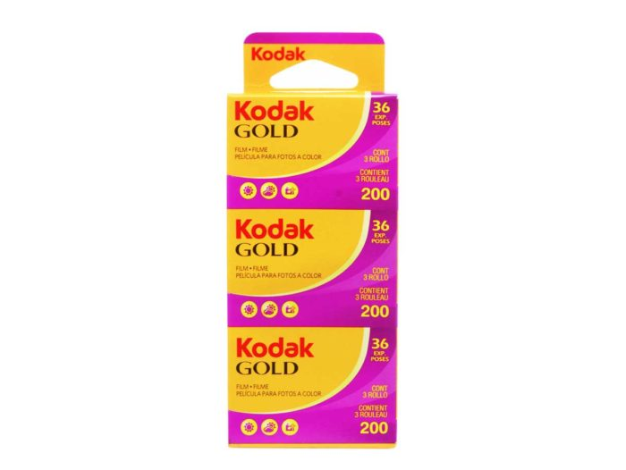 Kodak Gold 200-36 3 pack