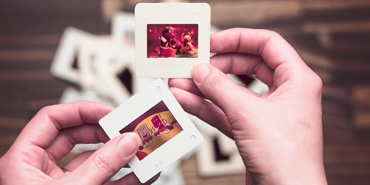 печать фотографий со слайдов в москве